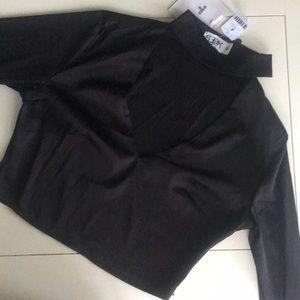 LF Silk Crop Top